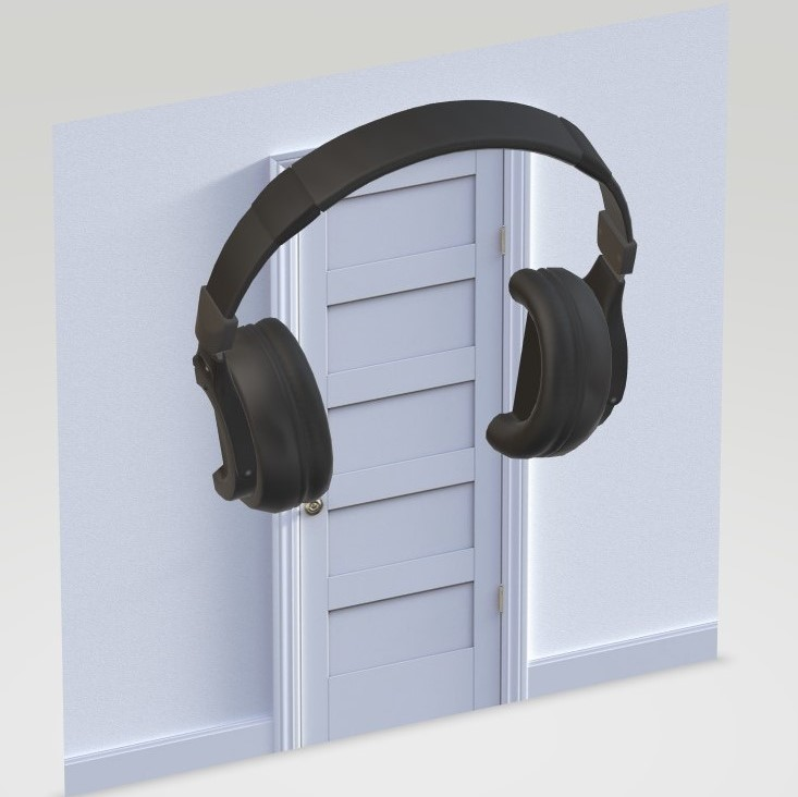 3D Soundproof Interior Door